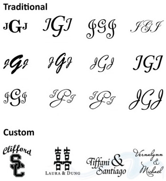 RI-MA-CT Wedding DJ & RI-MA-CT DJ Services & RI-MA-CT Disc Jockeys Monogram text font examples