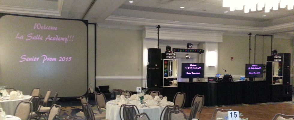 Rhode Island Disc Jockey Services Video and Multimedia Production System 2 2015